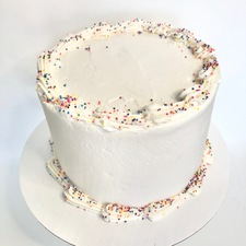 Funfetti Cake with Vanilla Frosting